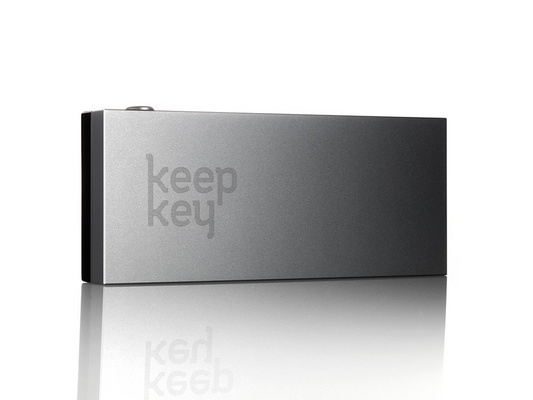 KeepKey, cryptocurrency hardware wallet, black