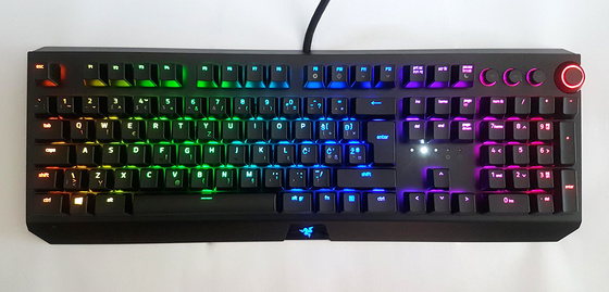 Tipkovnica Razer BlackWidow Elite, Green Switch, UK SLO g.