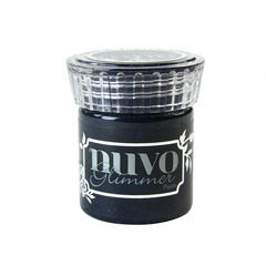 Nuvo Glimmer Paste - Black Diamond - Črna