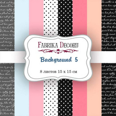 Scrapbooking Blok - Backgrounds 5 15 x 15 cm