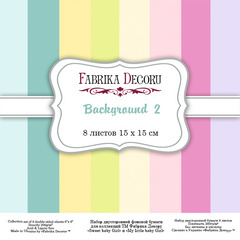 Scrapbooking Blok - Backgrounds 2 15 x 15 cm