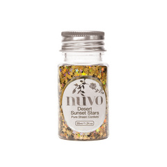 Nuvo - Confetti - Desert Sunset Stars - 35ml Bottle - 1060n
