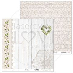 Scrapbooking Papir - First Love 04 - 30,5 x 30,5 cm