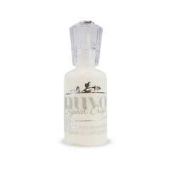 Nuvo Crystal Drops Gloss - Simply White - Bela