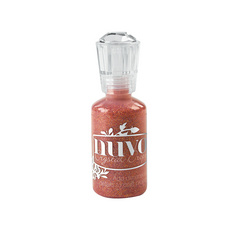 Nuvo Glitter Drops - Orange Soda